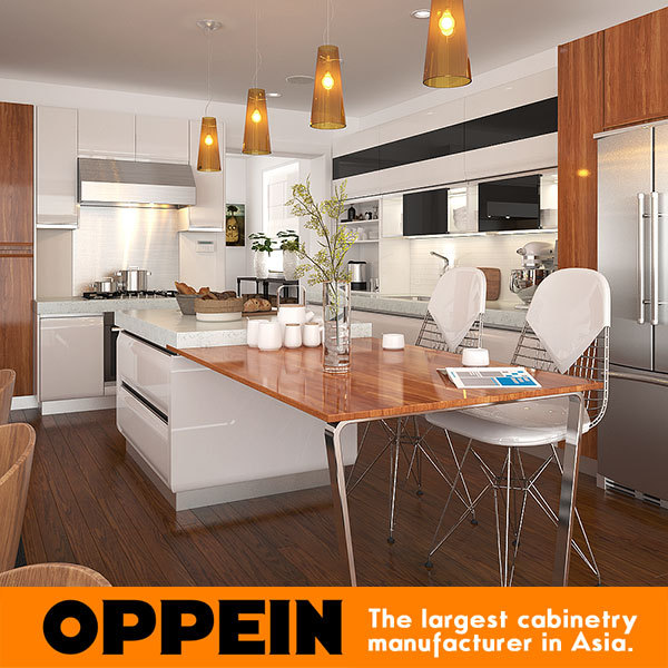 Kitchen Cabinets European Style: White European Style Modern Lacquer Ready Made Kitchen