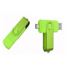 The   Smart Phone usb flash drive 8gb 16 gb 32 gb  usb 2.0 OTG external storage micro usb memory stick pen drive pendrive u disk