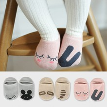 New Cartoon Unisex Child Socks Baby Toddler Girl Boy Boat Socks Spring Fall Cotton Socks 1 Pairs
