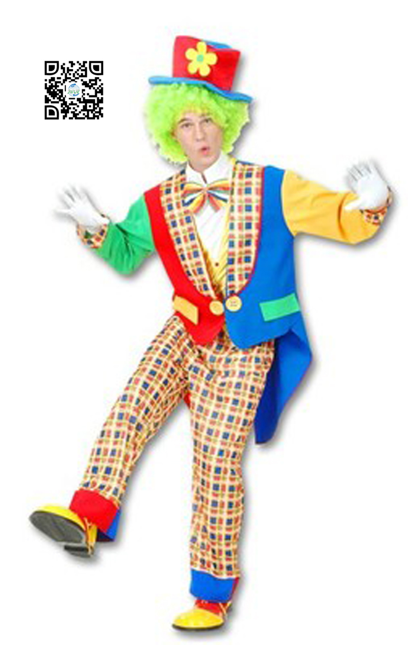 Professional Halloween Makeup Dallas: New Arrival SexyvTuxedo Clown Costumes For Adults