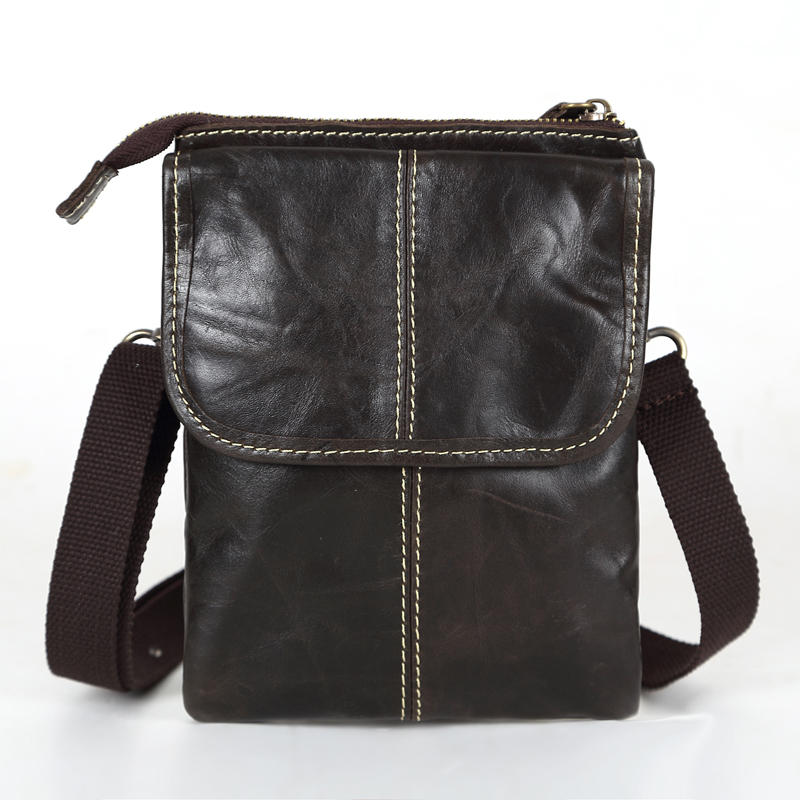 Продвижение старинные реального натуральной кожи небольшой мужчины сумки мини мобильный телефон мешок сигареты мешок мужские сумки на ремне # VP-L009