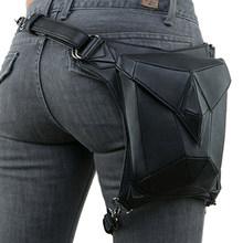 Поясная Сумка Norbinus с черепами и заклепками, мужская сумка для мотоциклистов и байкеров, поясная сумка в готическом стиле, сумка на плечо(Китай)