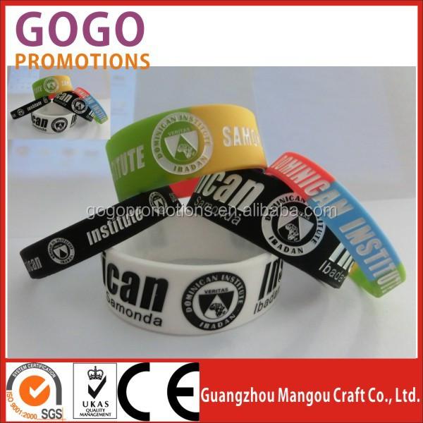 Custom Silicone Wristbands No Minimum 97