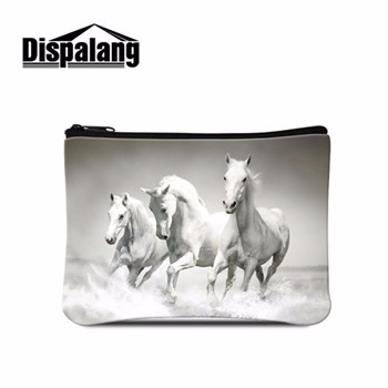 Dispalang Crazy Horse Animal Small Change Purse Women Makeup Buggy Bag Pouch Holder Mini Coin Bag For Children Casual Clutch Bag Coin Purses & Holders Coin Purses