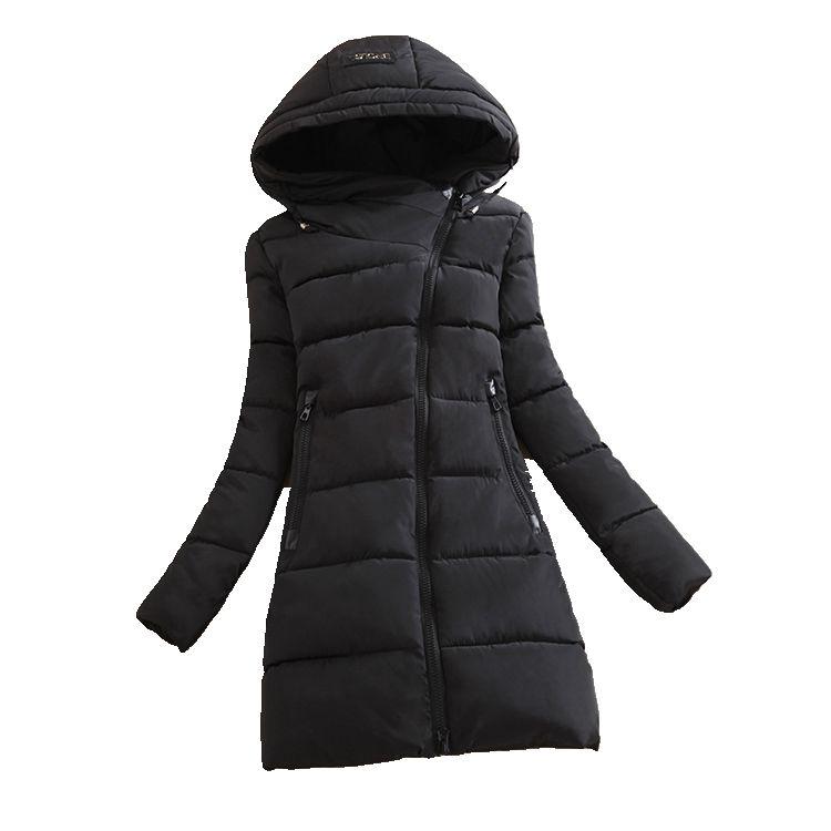 2016 new font b winter b font Cotton down jacket loose big yards was thin Medium