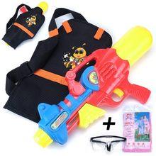 Большой водяной пистолет высокого давления игрушечный рюкзак водный пистолет пляжная игрушка для плавания летняя Горячая игрушка водяной ...(Китай)