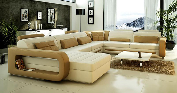 2015 lastest design u shape leather sofa living room sofa sofa furniture in living room sofas. Black Bedroom Furniture Sets. Home Design Ideas