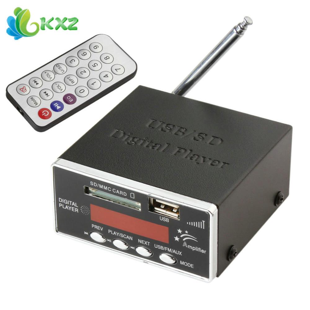 12v digital auto car power amplifier audio mp3 player. Black Bedroom Furniture Sets. Home Design Ideas