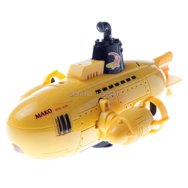 Remote control submarine with camera toy - Cut the rode