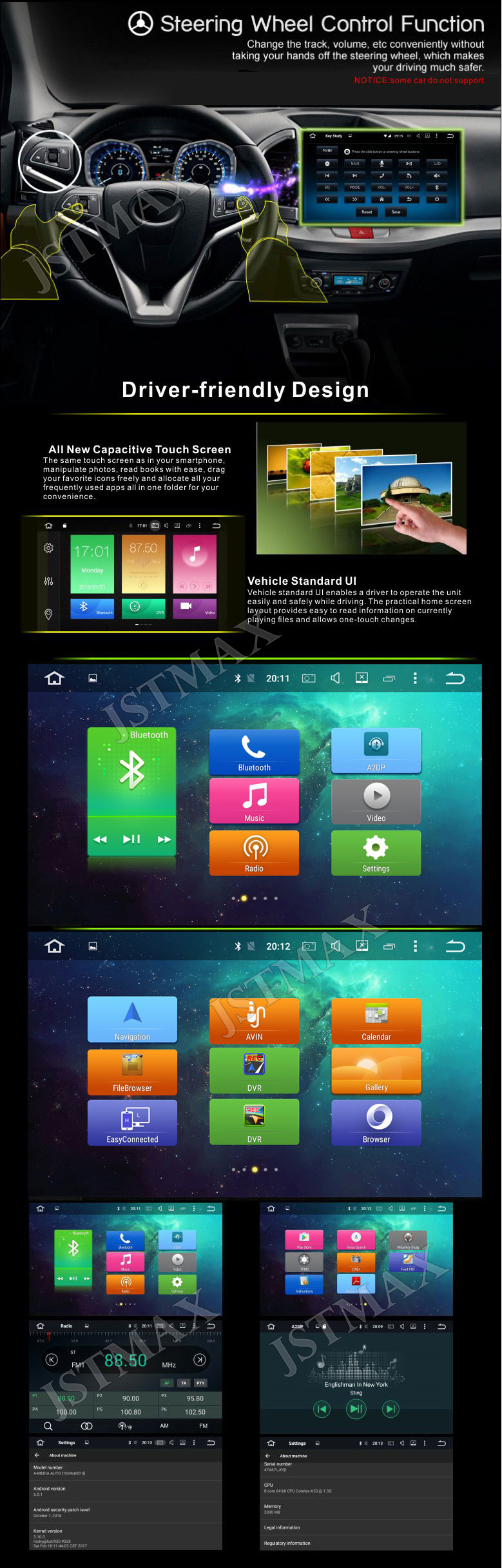 10 Android 6.0 Octa Core 2G RAM Car Raido GPS Player For Toyota Land  Cruiser LC200 2008-2013 NO DVD Head unit FM BT Player - us206 64c4af34b974