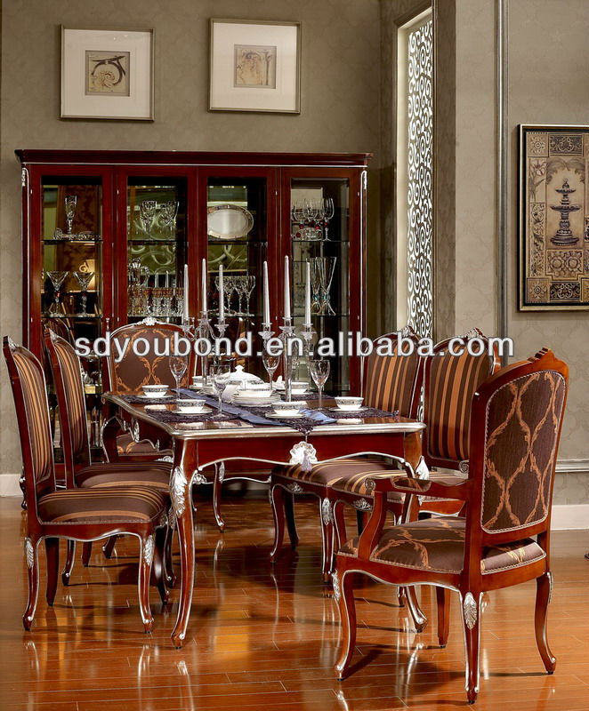 Quality Dining Furniture: Neo-classic Yb06 Luxury Good Quality Dining Room Set