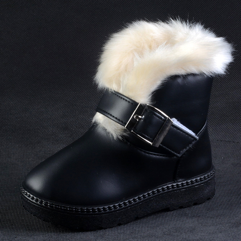 2016 2 to 8 years old Winter baby girl shoes keep warm