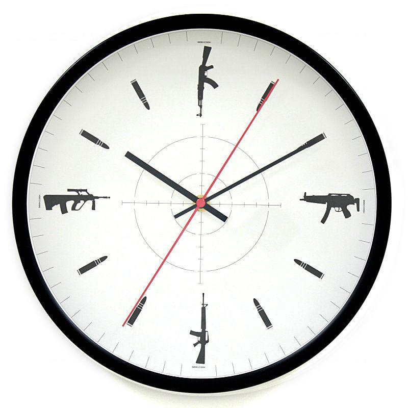 Original CS Theme Metal Antique Wall Clock Modern Design