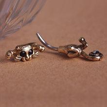 Новый стиль пупка кольцо высокого качества 316L пирсинг из хирургической стали пупка кольца красивый кот пупок пирсинг сексуальные украшени...(Китай)