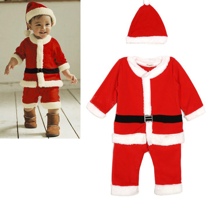 Kids Costumes. Baby Costumes Boy Costumes Girl Costumes Teen Costumes Toddler Costumes. He knows the real Santa Claus is busy at the North Pole, but he can be Santa's helper in this Toddler Santa Costume. It might even earn him a few points on the