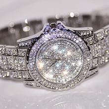 2016 Venda Quente Mulheres Relógios de Moda Diamante Relógio De Vestido de Luxo de Alta Qualidade Strass Senhora Relógio de Pulso Relógio De Quartzo Dropshipping