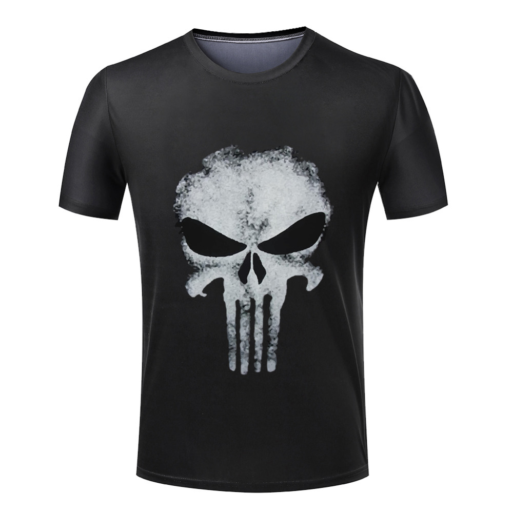 Free Shipping Stylish Cool Punisher T Shirts Summer Style ...