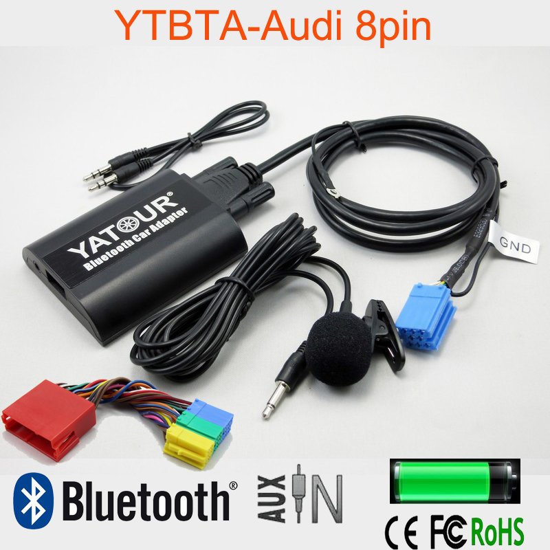 yatour bta bluetooth car kit hands free phone call a2dp. Black Bedroom Furniture Sets. Home Design Ideas