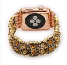 Смарт-браслет для мужчин и женщин, винтажные часы для iphone, Apple Watch, iwatch Gem Blue, 38 мм, 42 мм, Powder band, 1, 2, 3(Китай)
