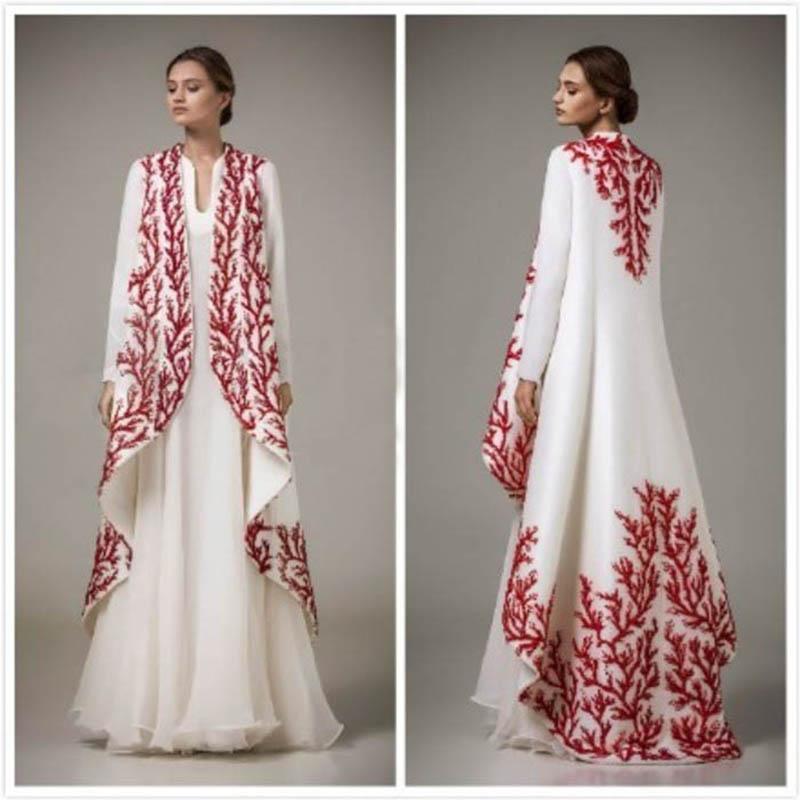 9a47f9ac128 Вышивка Арабский Марокканский Кафтан 2016 Турецкие Женщины Формальные  Вечерние Платья С Длинным Рукавом Дубай Абая Мусульманский Платье  Abendkleider
