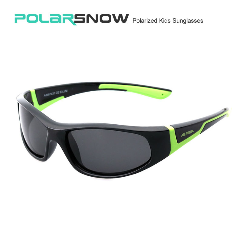 f5ef84e78e1 POLARSNOW 2016 Boys Girls Kids Sunglasses Goggle Polarized Sun Glasses For  Children Flexible TR90 Frame Eyewear Accessories
