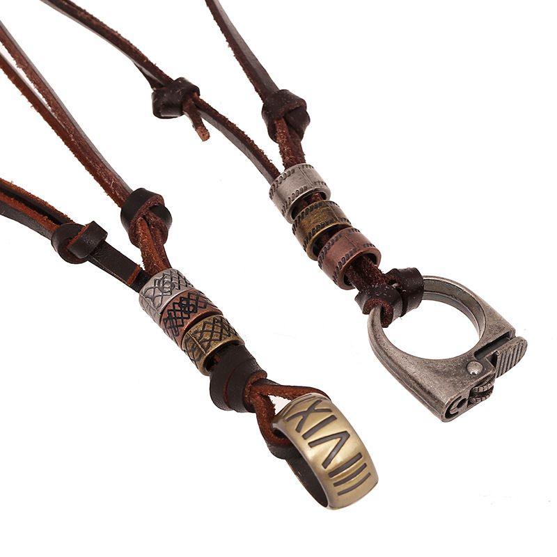 You searched for: men leather necklace! Etsy is the home to thousands of handmade, vintage, and one-of-a-kind products and gifts related to your search. No matter what you're looking for or where you are in the world, our global marketplace of sellers can help you .