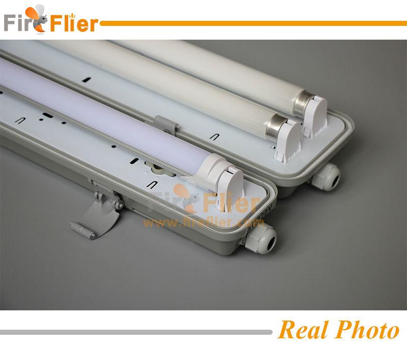 T8 Double Light Fixture: 2017 Double T8 2ft 4ft 5ft Tube Light Fixture Ip65