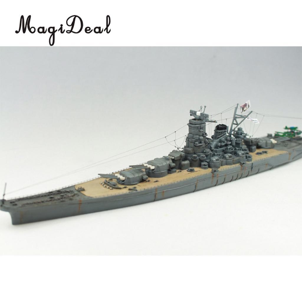 MagiDeal 1:700 Scale 30cm Plastic WWII Warship Japanese Yamato Battleship  Model Kits for Kids Children Toy Cool Gift