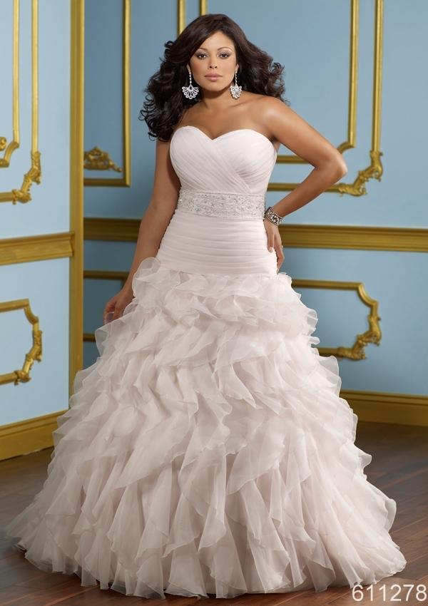 plus size puffy big skirt light pink/white sweet heart ...  plus size puffy...