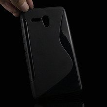 S lines Soft TPU Case For Alcatel One Touch Pop 3 5.5 5025D 5025 Back Protect Rubber Matte Silicone Phone Bags