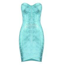 Мини-платье без рукавов PB 2020(Китай)