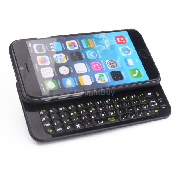 wireless keyboard for iphone 6 case backlit bluetooth keyboard case with integrated commands and
