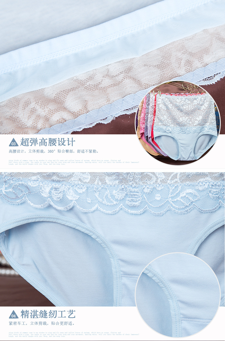 34f488ac48b 2019 New Type Of 2017 Sexy Plus Size Lady Briefs Pants Sexy Lace ...
