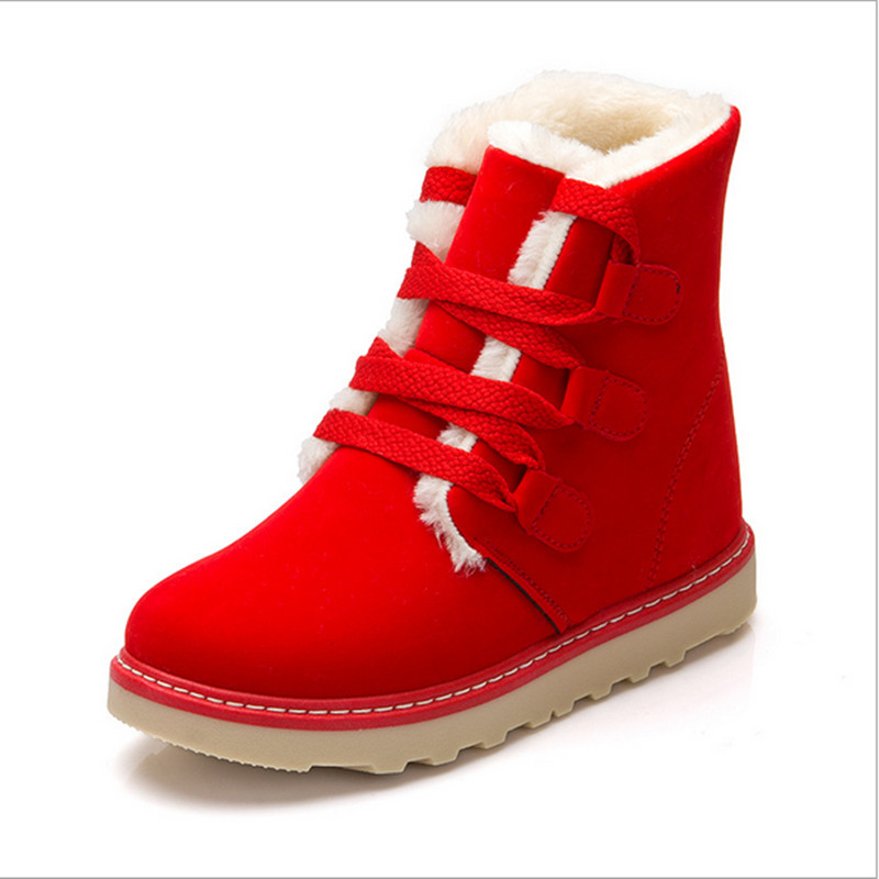 Red Snow Boots Women Bsrjc Boots