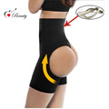 2016 Waist Shapewear Workout Waist Trainer Steel Corset Butt lifter With Tummy Control S M L