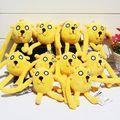 5pcs lot Anime Adventure Time Jake Finn Plush Toy Stuffed Doll With Ring Plush Pendant 6