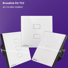 Broadlink TC2 EU 123 Gang Smart Wireless Wall Touch Switch Home Automation Remote Control Wifi Light Switch IOS Android RF433mhz