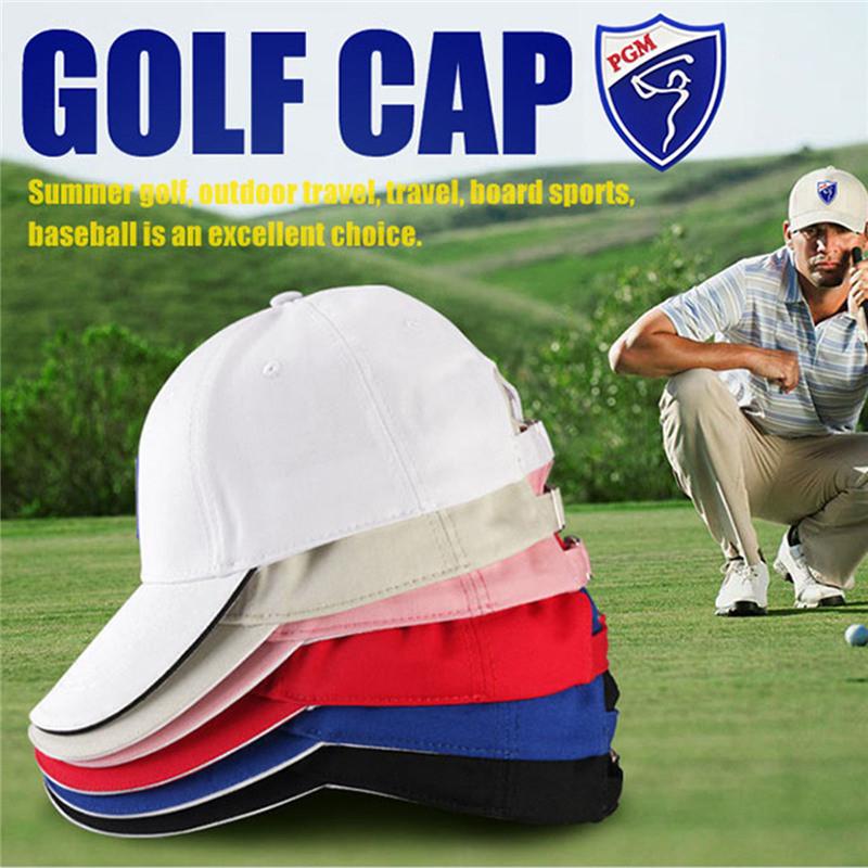 f5da16b4eec 2019 PGM Women Golf Hat Men Caps Cotton Golf Sunscreen Hat ...