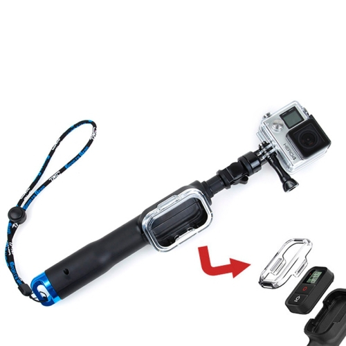 TMC Fold Retractable Handheld Remote Pole Monopod With Screw For GoPro Hero 4 /