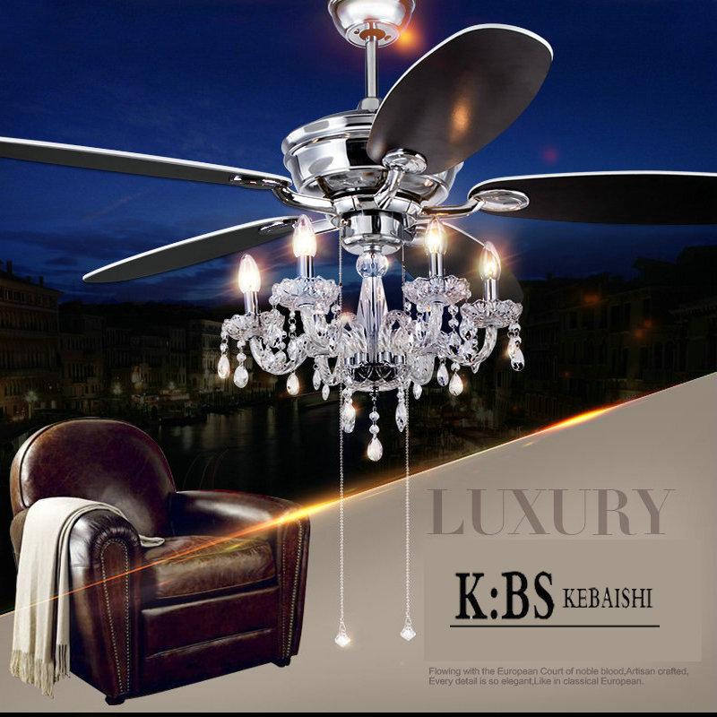 Ceiling Fan Chandelier Combo Online Buy Wholesale ceiling fan crystal chandelier from ...