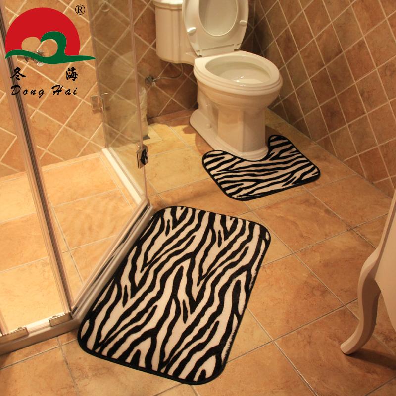 Free Shipping!Carpet Modern Brief Fashion Zebra And