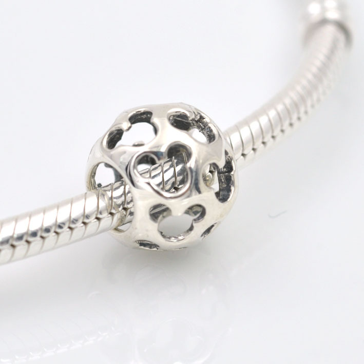 Pandora Jewelry Free Shipping: Free Shipping Fits Pandora Charms Bracelet Necklace 925