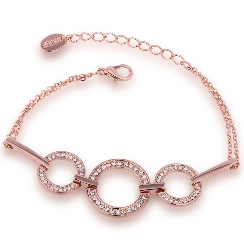 Name Brand Bracelets: VGBC183 Brand Name Luxury Jewelry Round Bracelet Top
