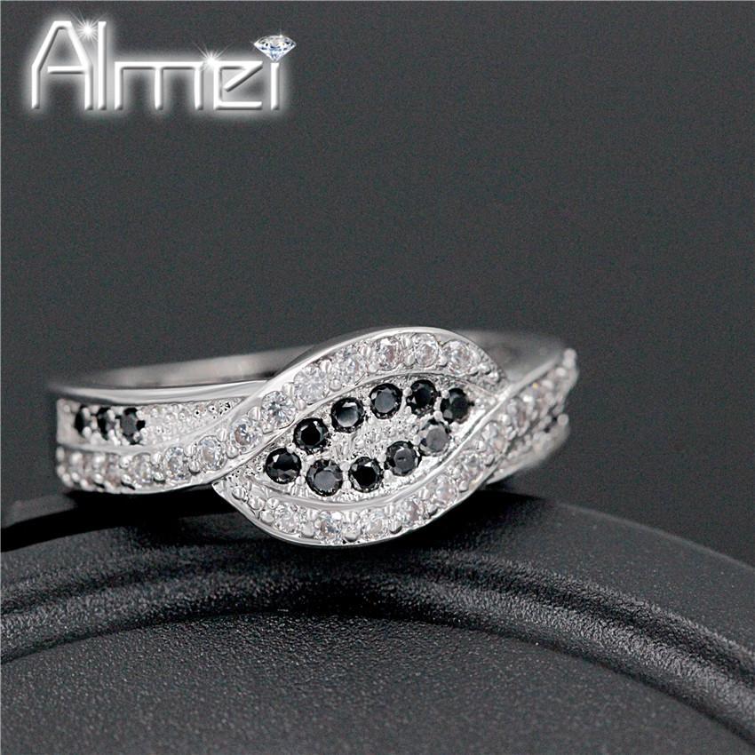 Aliexpress.com : Buy Engagement Rings Women Vintage Black ...