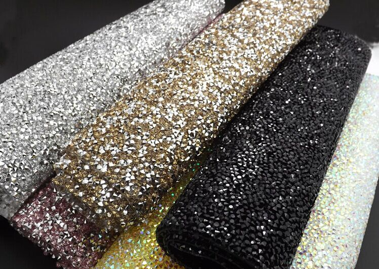Wedding Ab Crystal Rhinestone Resin Banding 24 40cm Fancy
