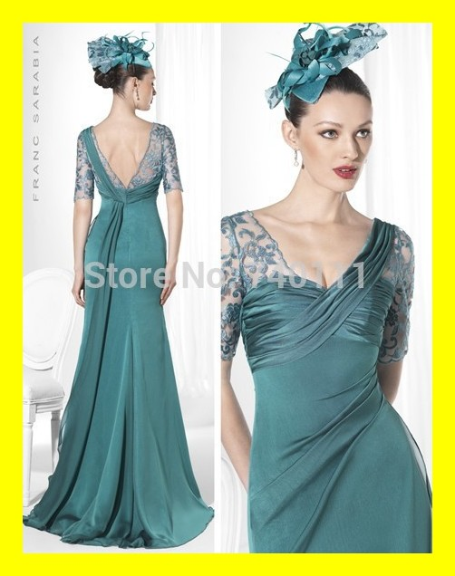 Blue Grandmother of the Bride Dresses