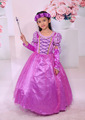 Fantasia Vestidos girl wedding dress princess dresses girl rapunzel costume kid rapunzel dress Princess costume girl