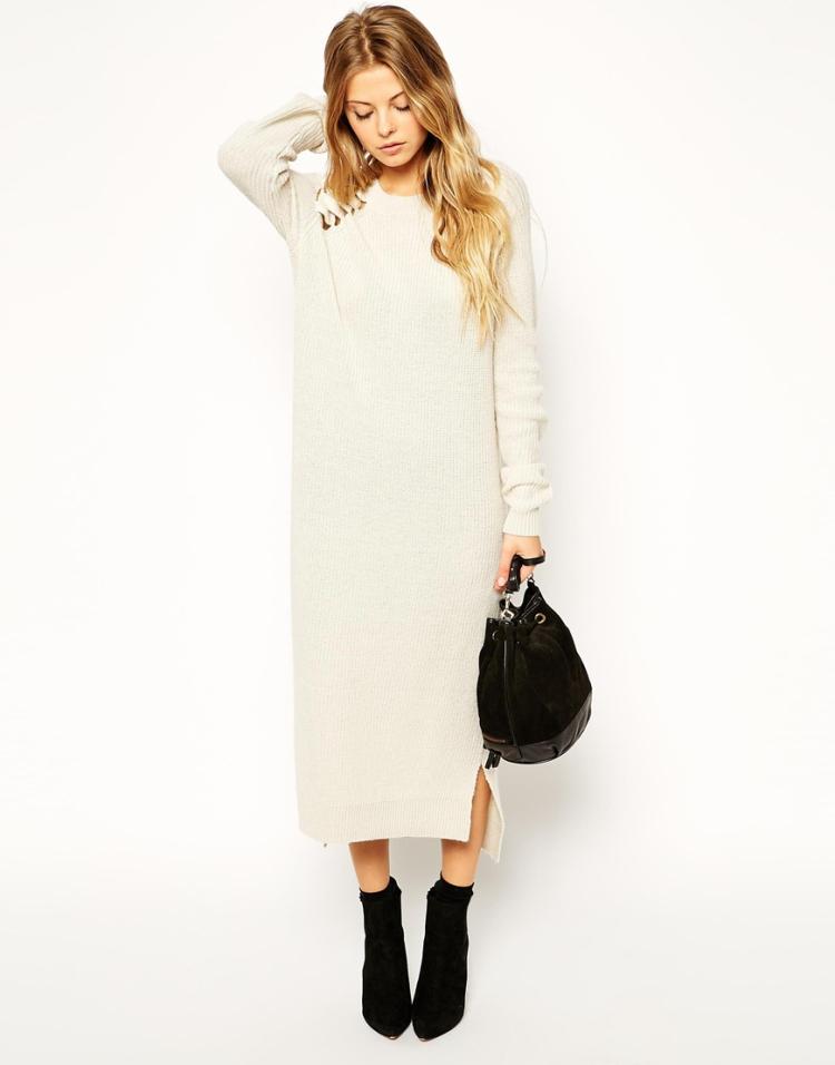 dernière sélection qualité et quantité assurées grandes variétés Robes élégantes France: Robe pull longue femme