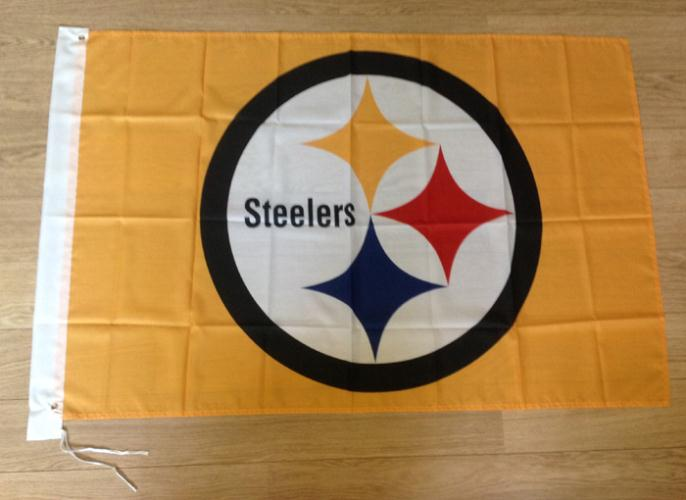 Pittsburgh Steelers Flag 3ft X 5ft Polyester Nfl