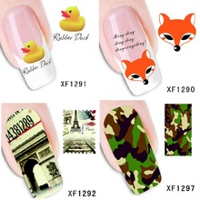 Beauty nail art nails sticker decals women makeup fingernails pegatinas para unas 1281 to 1300 styles